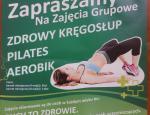 AEROBIK I PILATES - ZAJĘCIA GRUPOWE W GOK WIŚNIEW