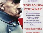 """KONCERT """"PÓKI POLSKA ŻYJE W NAS"""""""